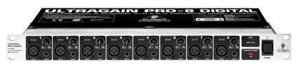 Behringer ADA8000 8 Channel A D D A Converter With Mic Preamps