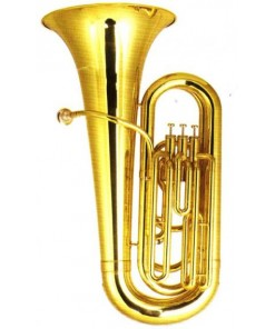 Mason AL319B-3P-L Tuba 3 Piston with Case