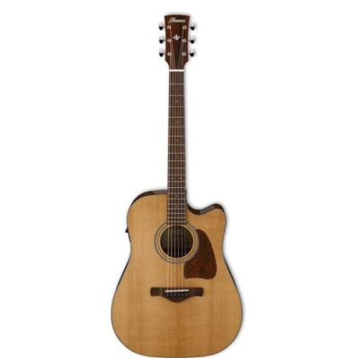 Ibanez AVD9CE NT Artwood Vintage Thermo Aged Acoustic Electric Guitar