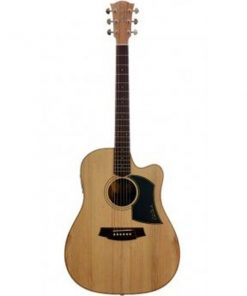 Cole Clark Fat Lady 1 CCFL1AC-BB Acoustic Electric Guitar with Case