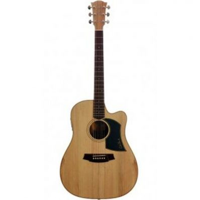 Cole Clark Fat Lady 1 CCFL1AC-BB Acoustic Electric Guitar with Case