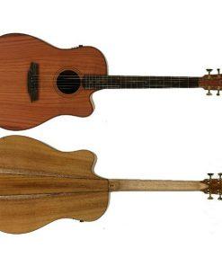 Cole Clark Fat Lady 2 CCFL2EC-RDMAH Acoustic Electric Guitar with Case