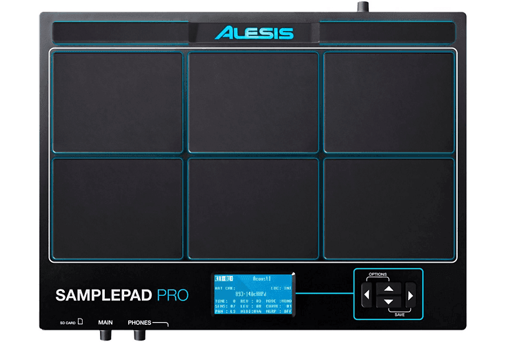 Alesis Sample Pad Pro Electronic Percussion Instrument and Sampler