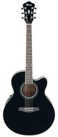 Ibanez AEL10E Acoustic Electric Guitar BK