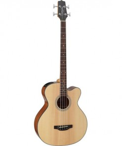 Takamine GB30CE NAT Acoustic Electric Bass Guitar Solid Spruce