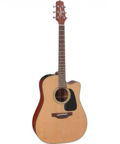 Takamine P1DC Pro Series 1 Acoustic Electric Guitar with Pickup and Case