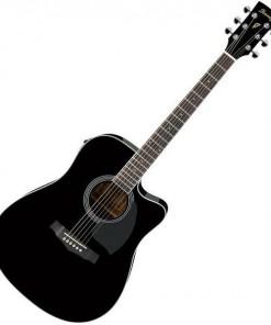 Ibanez PF15ECE Acoustic Electric Guitar BK
