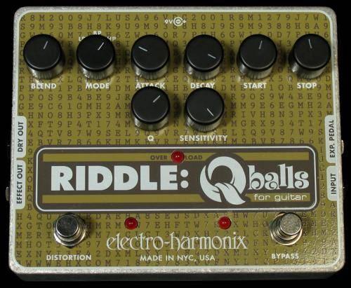 Electroharmonix EFFECTS PEDAL – Q BALLS FOR GUITAR
