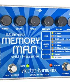 Electroharmonix EFFECTS PEDAL - STEREO MEMORY MAN WITH HAZARAI